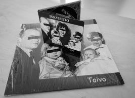 Vastasin Inkvistion Toivo levyn kuvituksesta