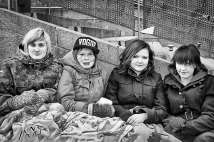 50/100 - We are rich: we have youth, freedom of thoughts and opinions. Hurray!!! - Future ministers - Winter fashion for Vogue Names by Heidi, Esa and Varpu